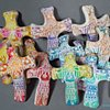 JOYFUL ANGEL HAND CROSSES