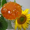 GINGER LEMON SUNFLOWER SOAP