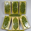 GREEN CELTIC KNOT BARS VANILLA SANDALWOOD