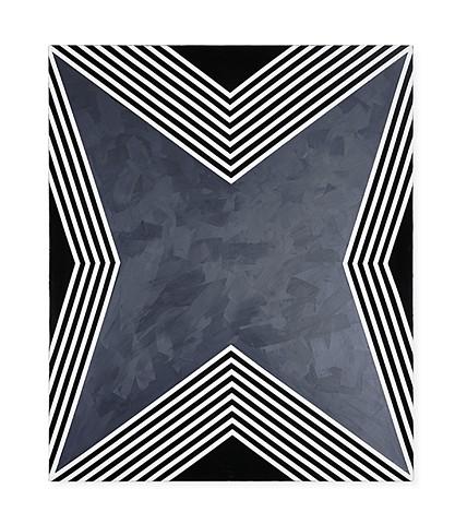UNTITLED STAR (B&W), canvas I