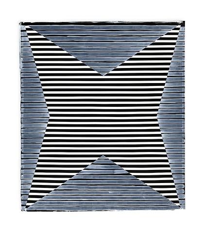 Untitled Star (B&W), paper II