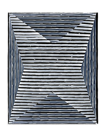 Untitled Star (B&W), paper VI