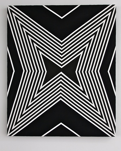 GEOMETRIC CONSTELLATIONS  Untitled Star / B&W II