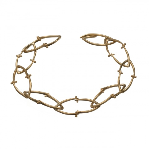 Wishbone Bracelet - Gold