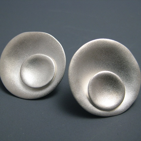 Orecchiette Two Tone Earrings