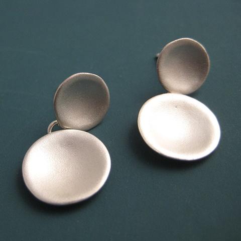 Orecchiette Double Drop Earrings