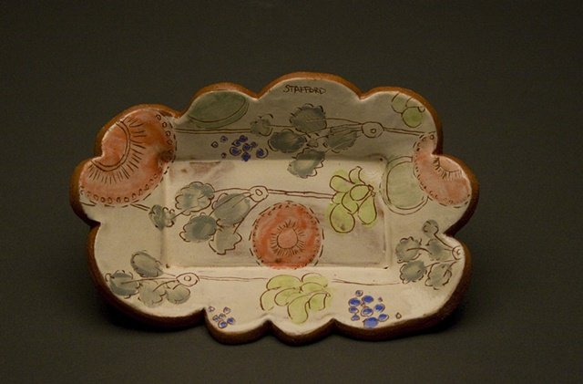 Tiny Flowers Tray