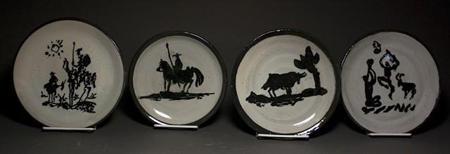 Caroline Whisennant, Commemorative Plates