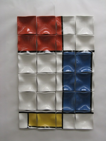 Mondrian Plates