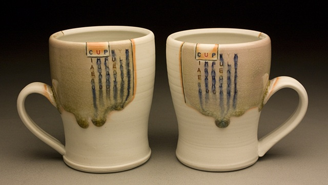 2 Cups with Handles