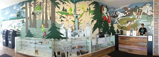 Commission for Main Street Marijuana Dispensary, Part I | Main Street, Vancouver, WA