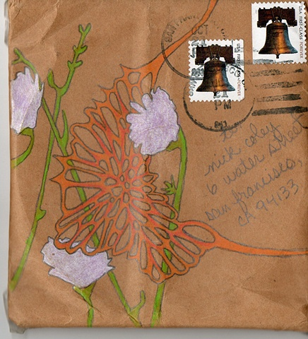 """Field Flowers"" mailed CD-envelope"