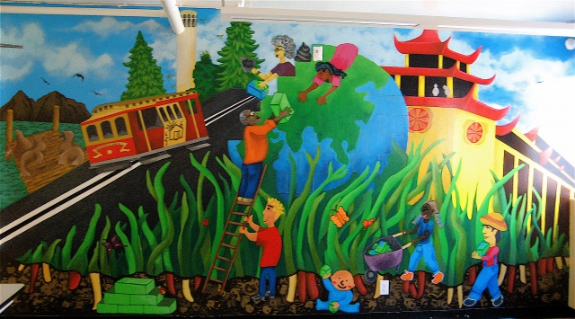 Telegraph Hill Neighborhood Center Mural