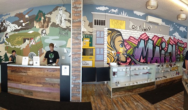 Commission for Main Street Marijuana Dispensary, Part II | Main Street, Vancouver, WA