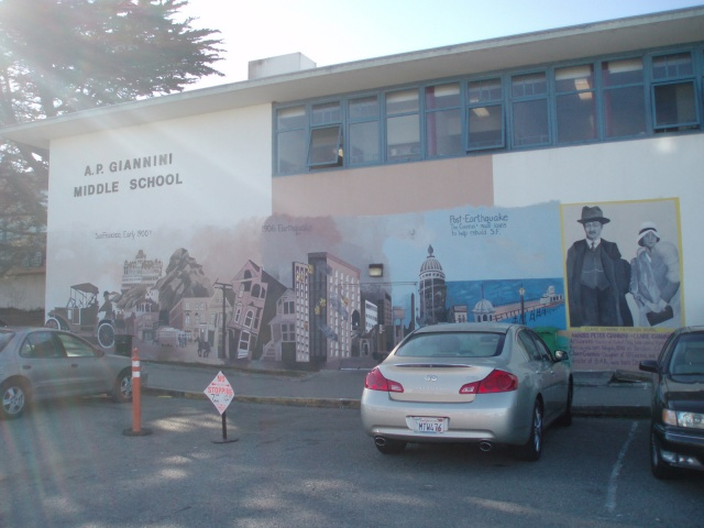 A.P. Giannini Tribute Mural