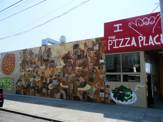 Commission for The Pizza Place on Noriega | Noriega Street, San Francisco