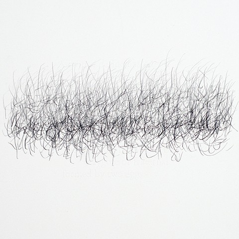 Joanne Aono Hashi Twin Graphite Drawing