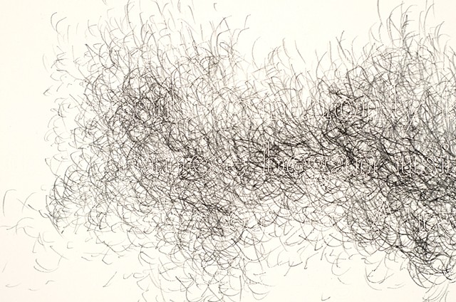 Joanne Aono Hashi Tips Twin Graphite Drawing
