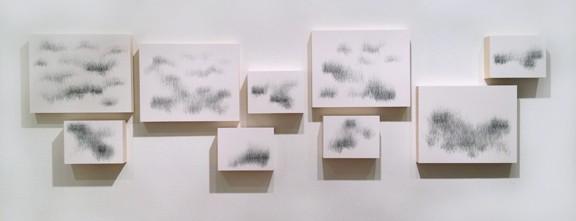 Joanne Aono, Home Fields, drawing, installation