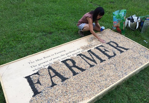 The Farmer, Joanne Aono, Seed, Wendell Berry