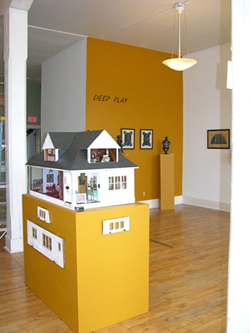Mrs. Birdy's Dollhouse/ 1930's and view of title wall