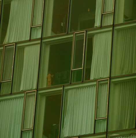only naked thing I've ever seen in the windows of the Standard.
