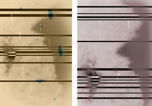 Abstractions No.2  & No.3 (Homage to Boulez)