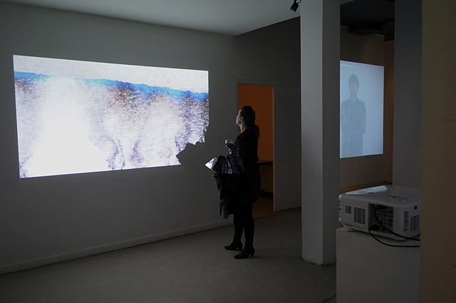 Installation view of Climb Strata (with Youki Cropas) The Philosopher's Knoll The Banff Centre