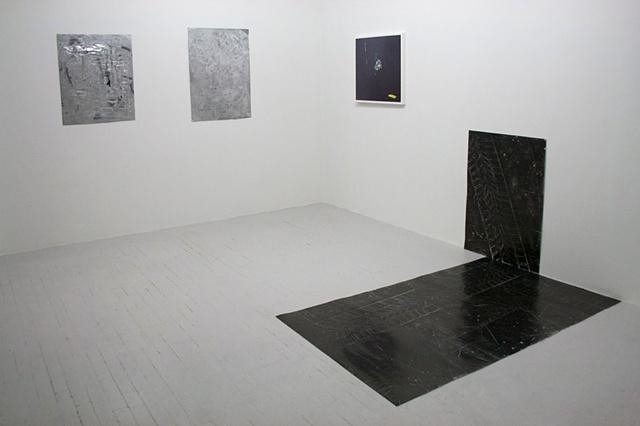 "Installation shot from ""Street Level"" at Nudashank, Baltimore"