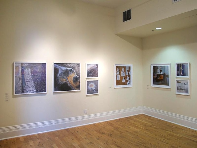 """Installation shot from """"Up Art"""" (Circuit Gallery) at The Gladstone"""
