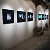 "Installation shot from ""Scan"" at Pikto Gallery, Toronto"