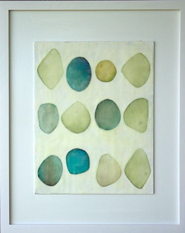 """Collections in Sea Glass, No. 1"""