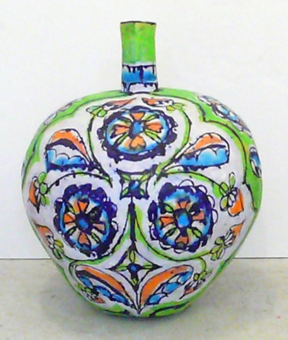 Lime Triple Flower Bottle