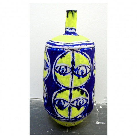 Yellow Face Bottle