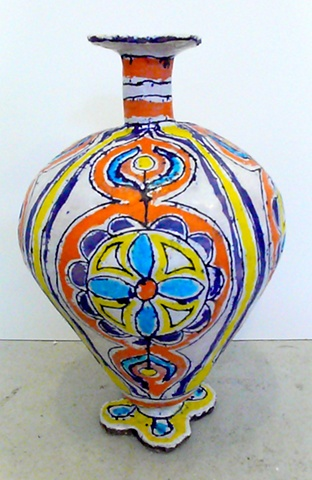 Russian Flower Bottle