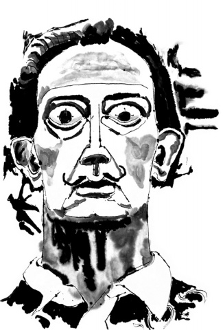 Salvador Dalí Bugeyed