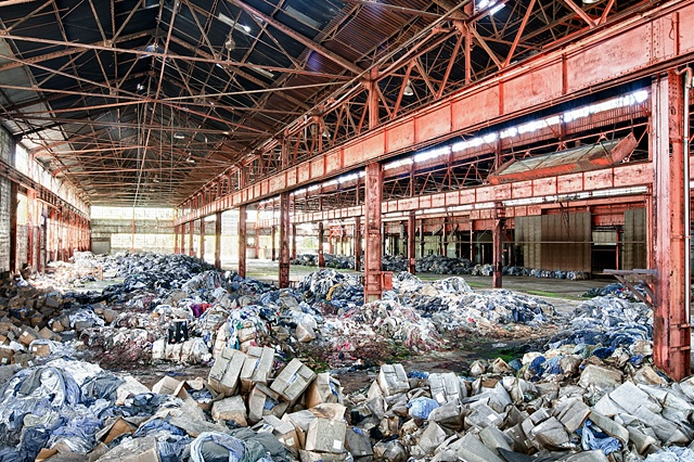 urban decay photography urbex beautiful deconstruction factory gary