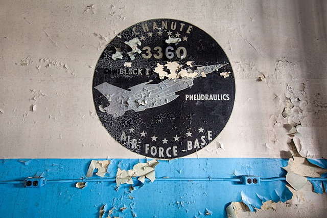 urban decay photography urbex beautiful abandoned air force base afb