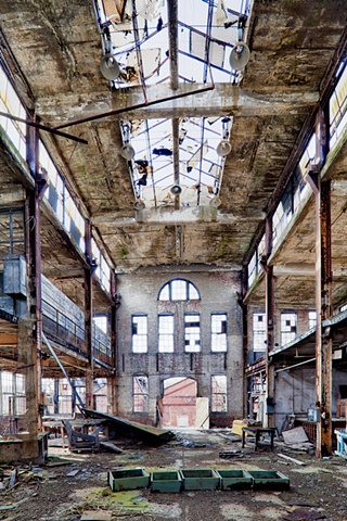 urban decay photography urbex beautiful steel youngstown paramount