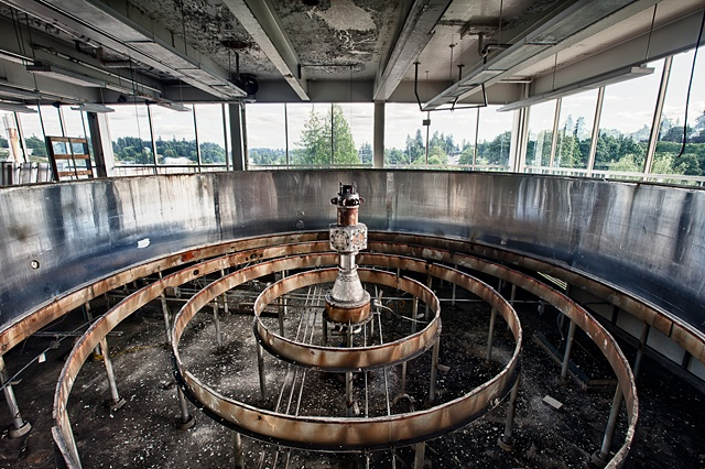 urban decay photography urbex beautiful deconstruction olympia  brewery