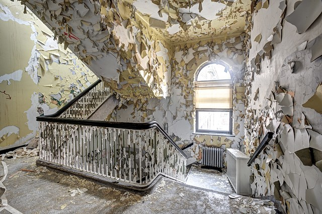 Shedding Stairwell