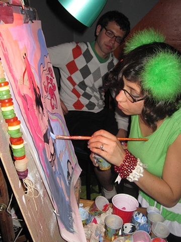 Live Painting @ Club Six