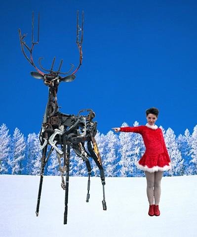 steel reindeer