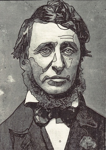 Thoreau Drawing