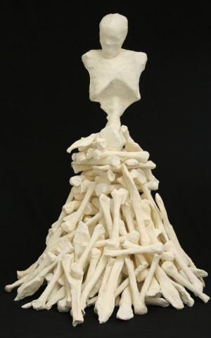 Pile of Bones / Re-workable Sculpture
