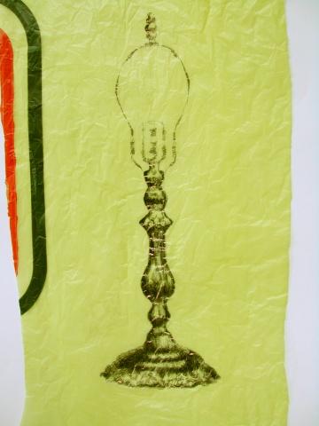 Table Lamp - yellow