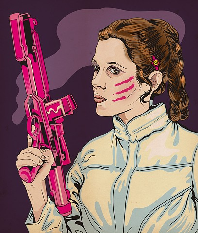 Hoth Pink Leia