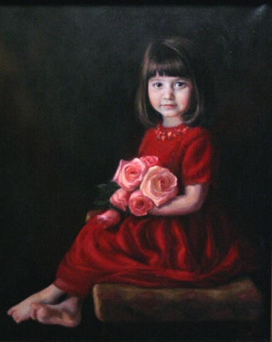 """little lady in red"""