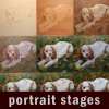 a portrait in stages