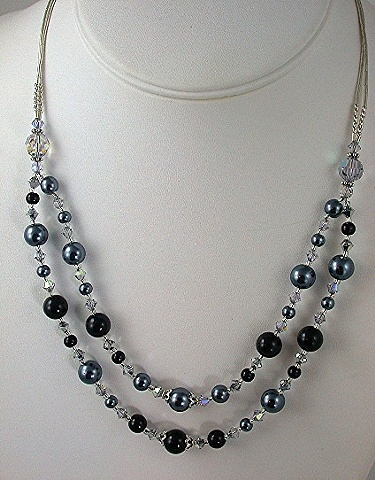 Pearls and Crystal